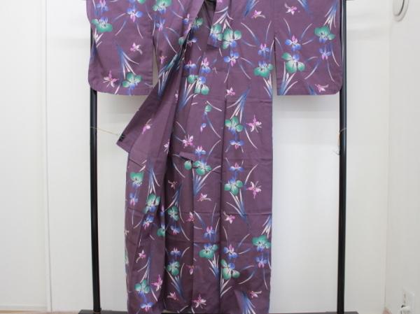 〔楽布〕P2370 注染木綿浴衣 nk_画像2
