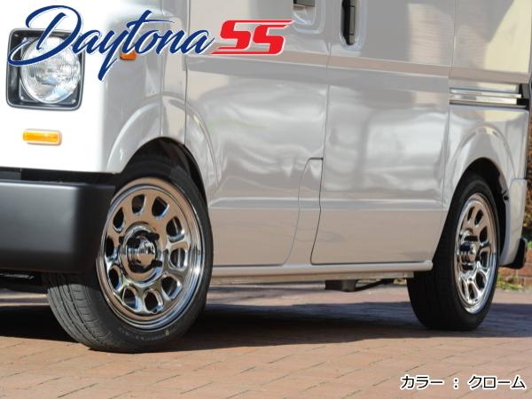 デイトナ DAYTONA SS 新品14インチ 5.0J/+42 & ハンコック Kinergy ECO2 155/65R14*軽自動車用 ※ホンダ Nシリーズ 4WD/Turboは不可_画像4