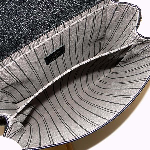 本物 美品 ルイヴィトン モノグラム アンプラント ポシェット・メティス MM M41487 2WAYバッグ ノワール 黒 ハンドバッグ ショルダーバッグ_画像3