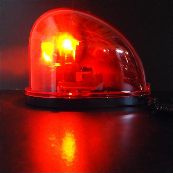 DC24V 回転灯 非常用ライト 卵型 たまご 赤色 警告灯 レッド/8_画像6