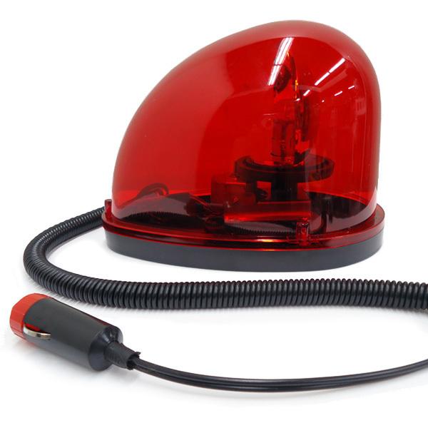 DC24V 回転灯 非常用ライト 卵型 たまご 赤色 警告灯 レッド/8_画像2