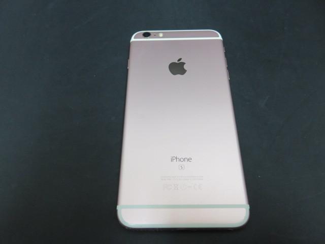 即決 中古 動作確認済み apple アップル iphone6s Plus 64GB ローズゴールド MKU92J/A モデル A1687 au KDDI 判定〇 バッテリー残81%_画像6