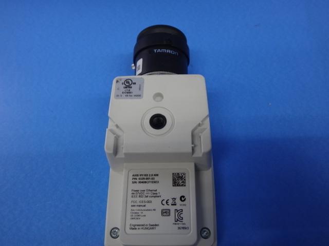 ▲ LG1246)・保証有 AXIS アクシス 【M1103】 ネットワークカメラ 領収書可 _画像3