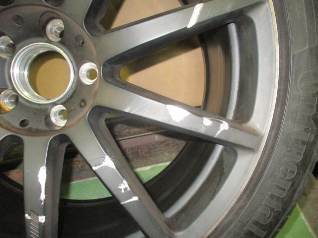 ベンツ純正 W222 Sクラス AMG S63L AMG 20インチ AMGアルミホイールタイヤ付1本 20×9、5J ET39 _画像4