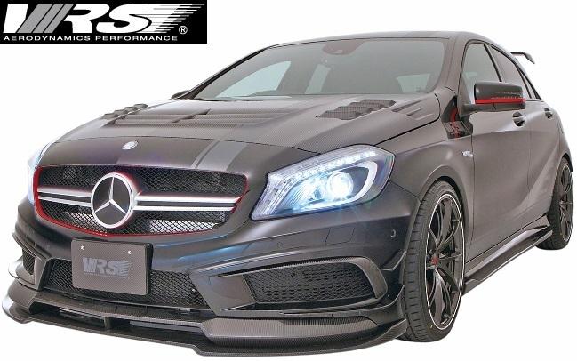 【M's】AMG W176 A45 (2013y-2018y) VRS フルエアロ 6点 (F+DT+SD+RD+RF+RW)//バリス VARIS ベンツ Aクラス A45AMG エアロ_画像1
