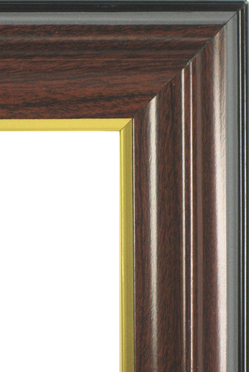 賞状額縁 フレーム 許可証額縁 木製 栄誉(0150) ブラウン 七五サイズ_画像2