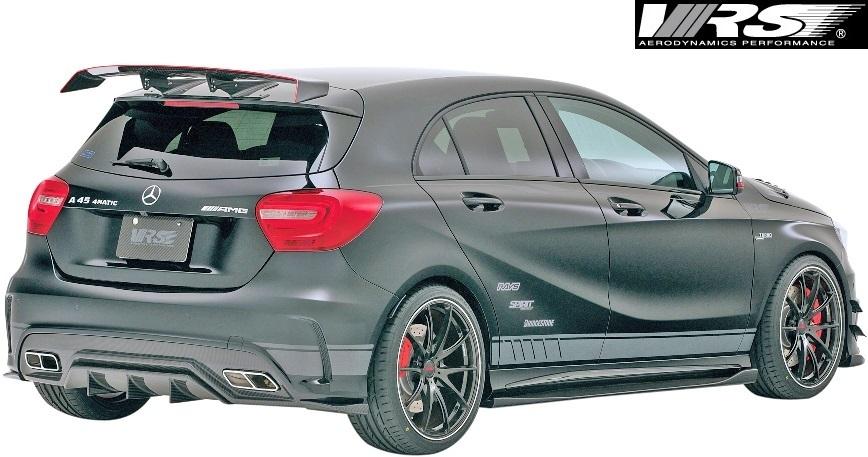 【M's】AMG W176 A45 (2013y-2018y) VRS フルエアロ 5点 (F+DT+SD+RD+RF)//バリス VARIS ベンツ Aクラス A45AMG エアロパーツ エアロ_画像4