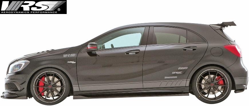 【M's】AMG W176 A45 (2013y-2018y) VRS フルエアロ 6点 (F+DT+SD+RD+RF+RW)//バリス VARIS ベンツ Aクラス A45AMG エアロ_画像2