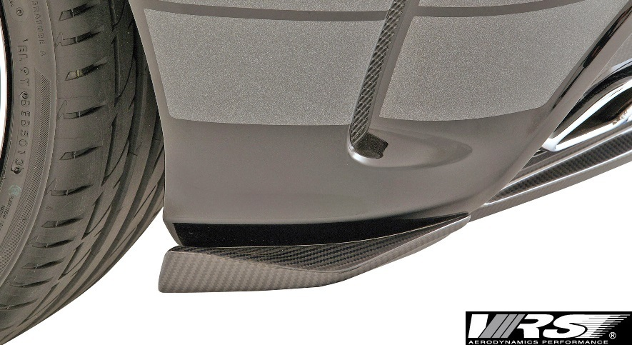【M's】AMG W176 A45(2013y-2018y) VRS リアバンパーフリッパー L/R(純正リアバンパー専用)//FRP バリス VARIS ベンツ Aクラス VAM-4513_画像2