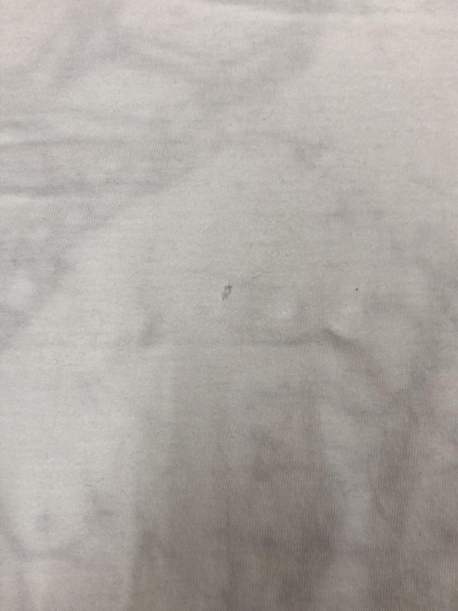 DC ディーシーDC  半袖Tシャツ サイズ XL  ホワイト スポーツウェア スケートボード  メンズ ストリート BIG_ヤブレあり