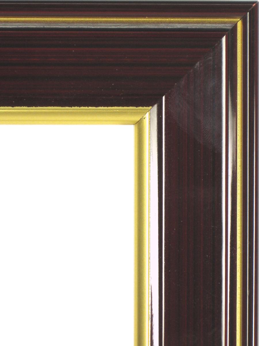 賞状額縁 フレーム 許可証額縁 木製 光輝(0140) ブラウン 七五サイズ_画像2