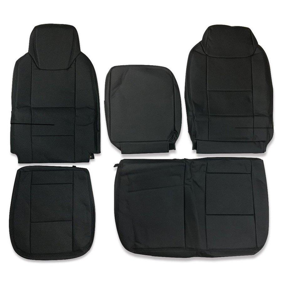 いすゞ エルフ 6型 ワイドキャブ シートカバー 運転席 助手席 パンチングレザー ZERO_画像1