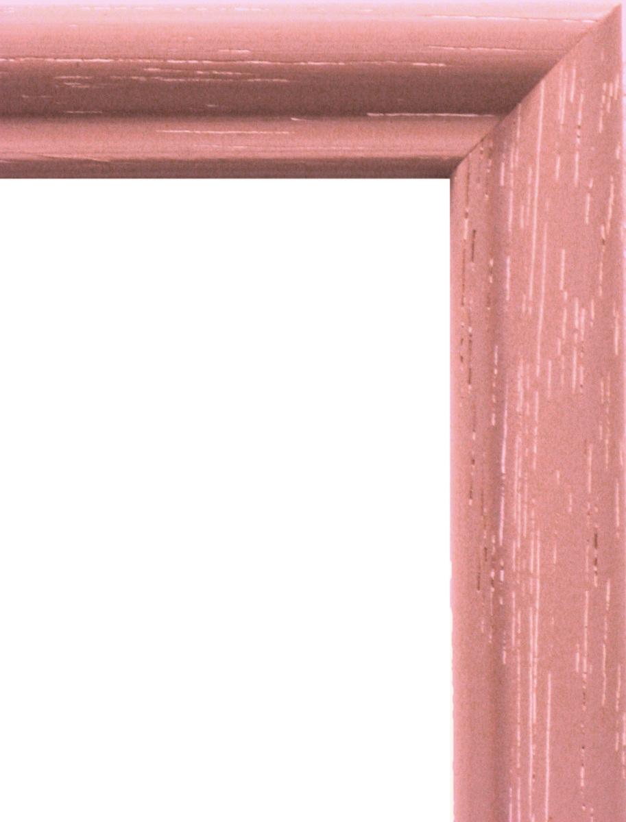 額縁 横長の額縁 木製フレーム 6701 ピンク サイズ600X300mm_画像2