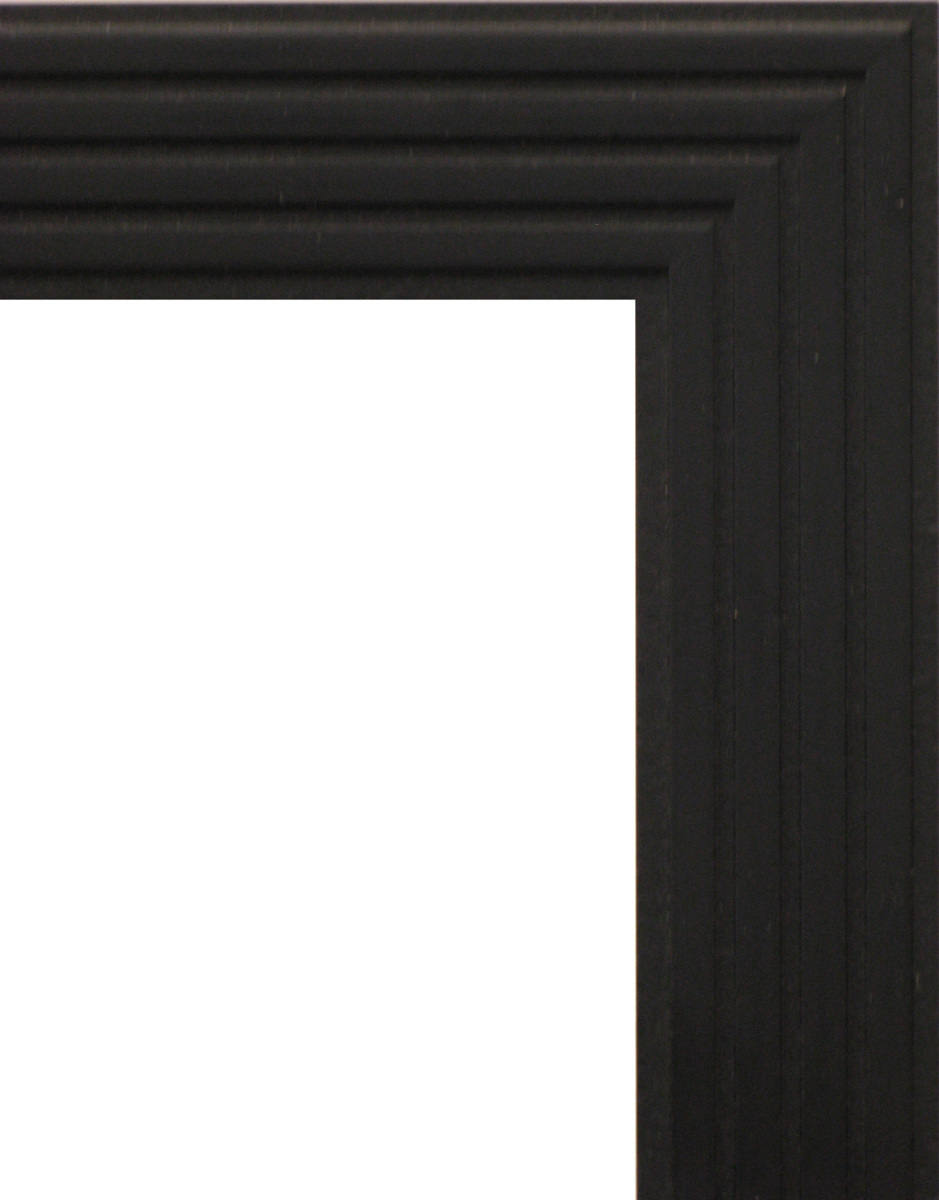 額縁 OA額縁 ポスター額縁 木製フレーム 5895 ブラック B3サイズ 515X364mm_画像2