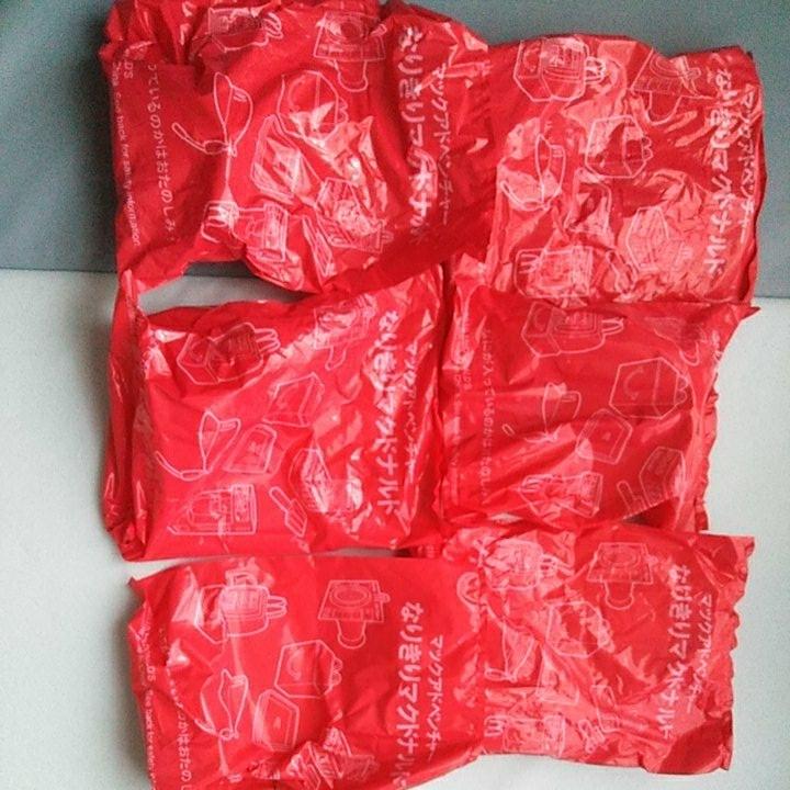 ハッピーセット  なりきりマクドナルド 全6種 フルコンプリート セット 週末限定マクドナルドごっこシール1枚付き_画像3