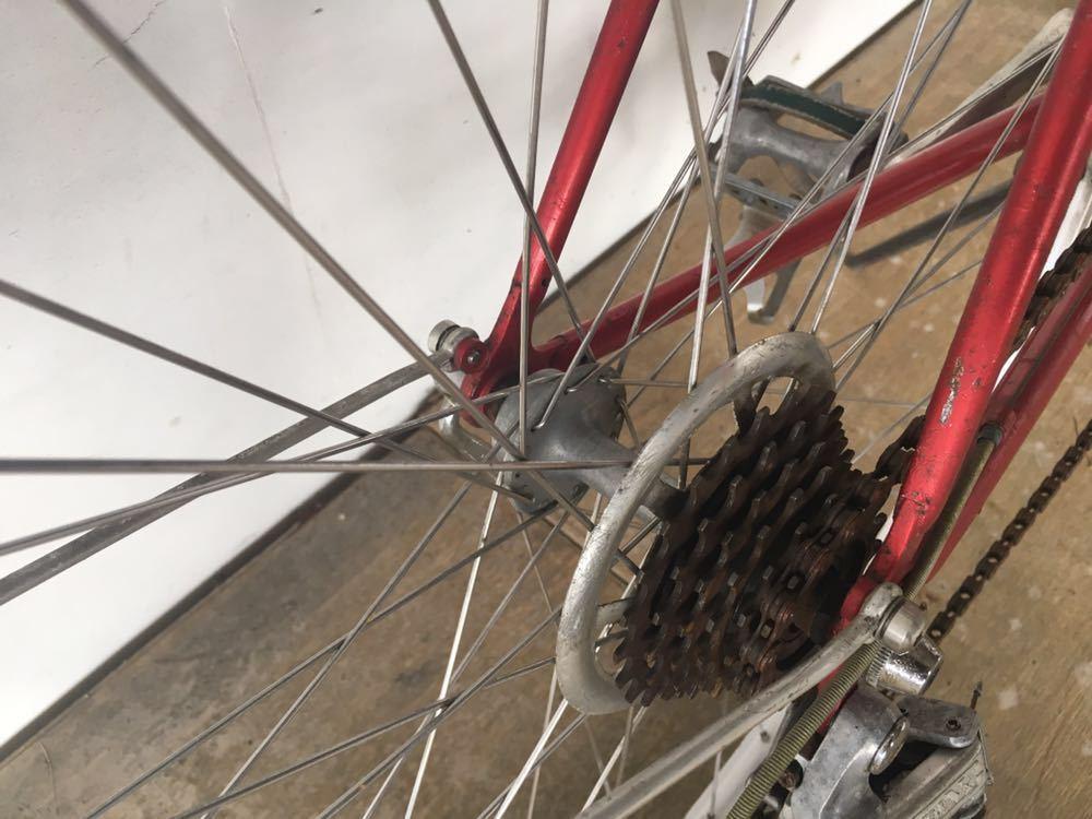 当時物 ブリジストン ユーラシア ランドナ ー レイダック 4130 クロモリ ロードバイク BRIDGESTONE EURASIA ビンテージ 1980年代_画像6