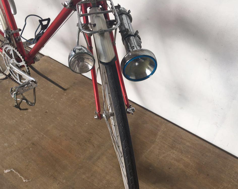当時物 ブリジストン ユーラシア ランドナ ー レイダック 4130 クロモリ ロードバイク BRIDGESTONE EURASIA ビンテージ 1980年代_画像4