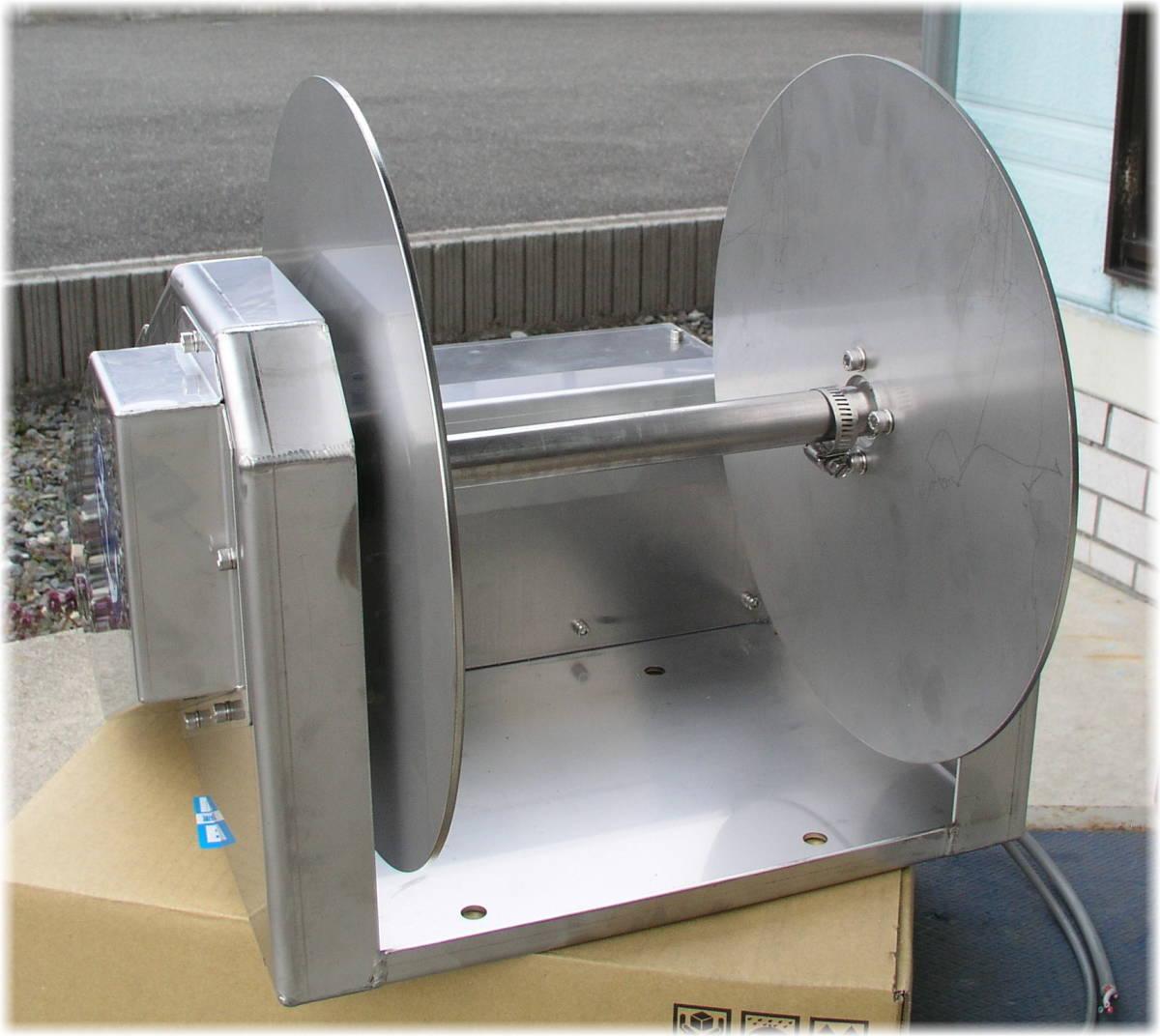 「オートイカリ 使い方動画有 AI-AC アンカー ウインチ AC100V 誘導モーター仕様 オートウインチ オートアンカー 」の画像2