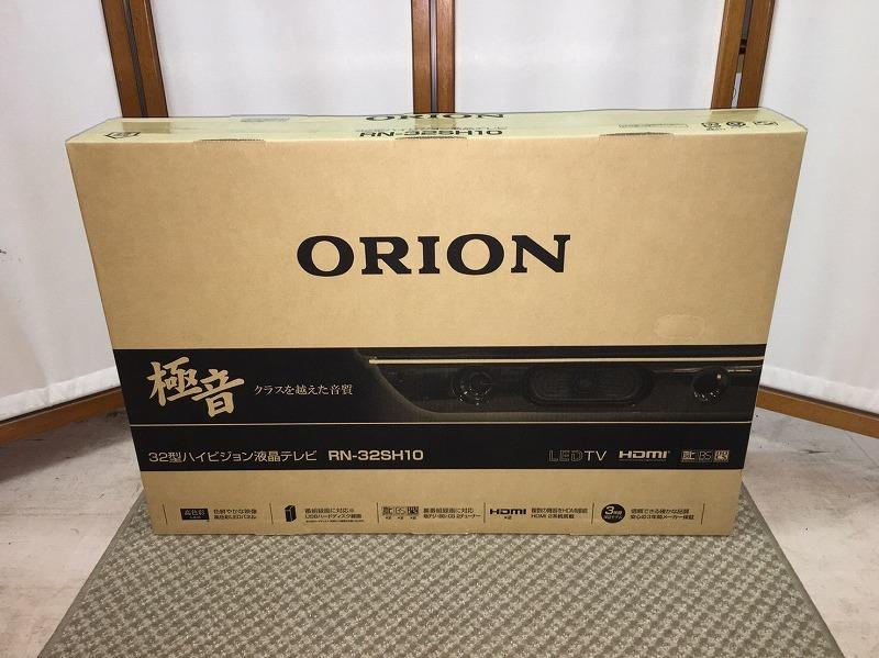 32T74 新品 未開封品 ORION 極音 32型 ハイビジョン液晶テレビ RN-32SH10 17年製 オリオン_画像1