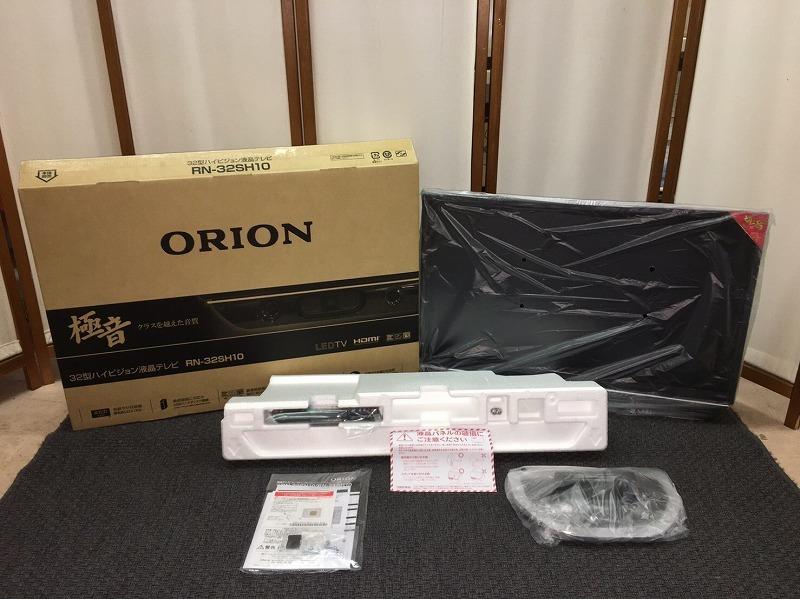 32T74 新品 未開封品 ORION 極音 32型 ハイビジョン液晶テレビ RN-32SH10 17年製 オリオン_画像5