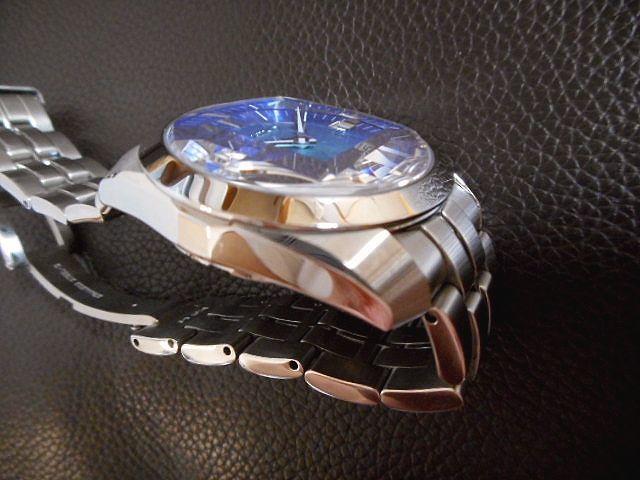 激レア セイコー メカニカル SEIKO SARB001 ブルーダイアル 6R15搭載 美品_画像4