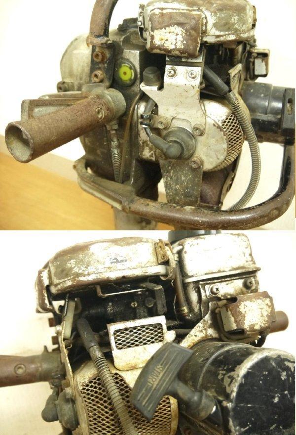 H670●山田機械 エンジン コンクリートブレーカー ビーガン EC-55GS YAMADA_画像7
