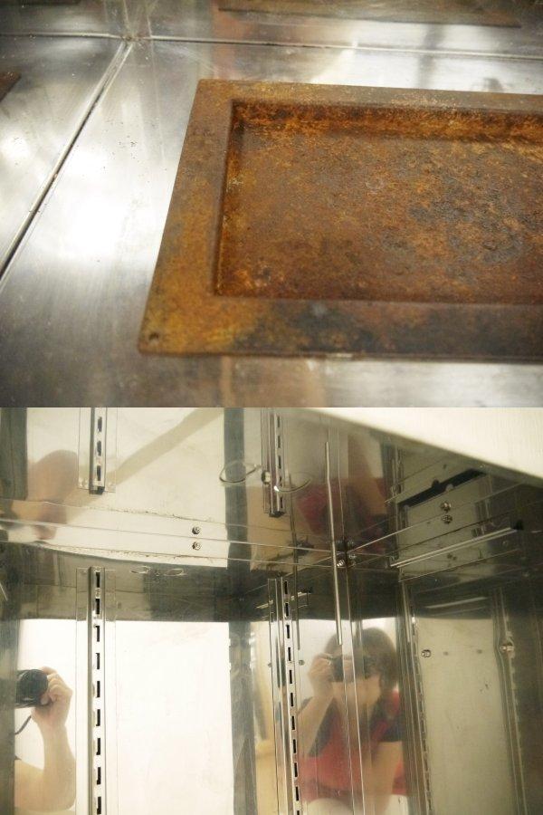 H674●業務用 BEAVER ビーバー HOME SMOKER ホームスモーカー サクラチップ2本付き 大型燻製器 温度計 空気孔付き アウトドア 進誠産業 _画像7