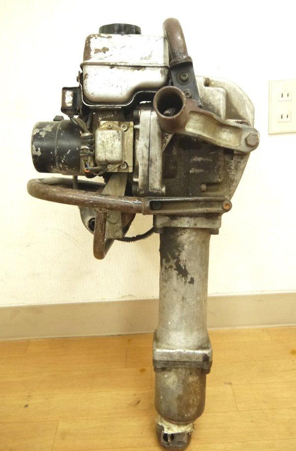 H670●山田機械 エンジン コンクリートブレーカー ビーガン EC-55GS YAMADA_画像4
