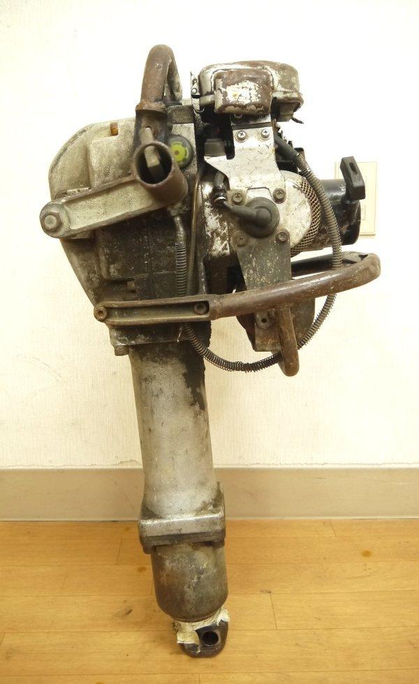 H670●山田機械 エンジン コンクリートブレーカー ビーガン EC-55GS YAMADA_画像5