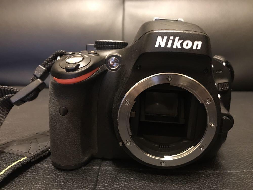 ニコン/NIKON D5100 ダブルズームキット 美品_画像5