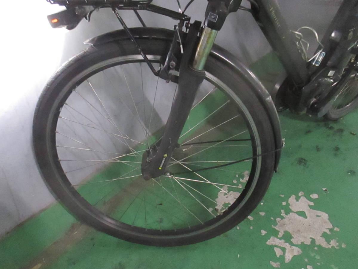 「P-6」美品★Panasonic 電動アシスト自転車 Hurryer(ハリヤ)BE-ENH444B 7段変速 26インチ バッテリー8Ah&充電器付★_画像3