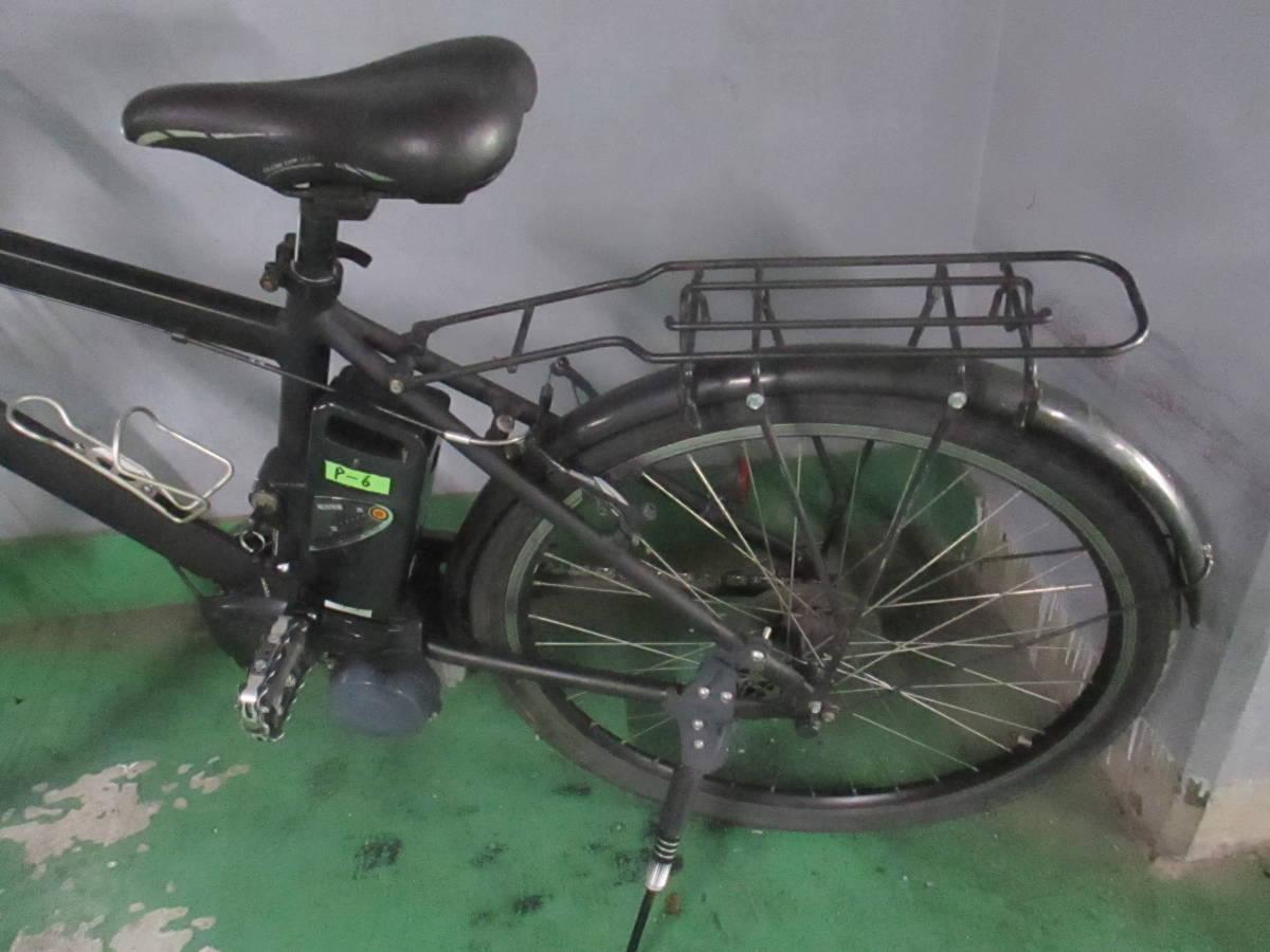 「P-6」美品★Panasonic 電動アシスト自転車 Hurryer(ハリヤ)BE-ENH444B 7段変速 26インチ バッテリー8Ah&充電器付★_画像5