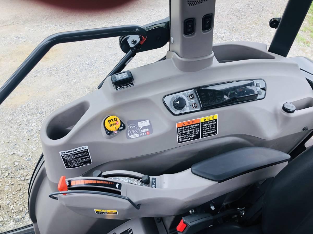 クボタ KL53ZH ハイスピード トラクター エアコンキャビン付 53馬力 純正ロータリー付 eクルーズ 最高速度 32.63 km/h_画像7