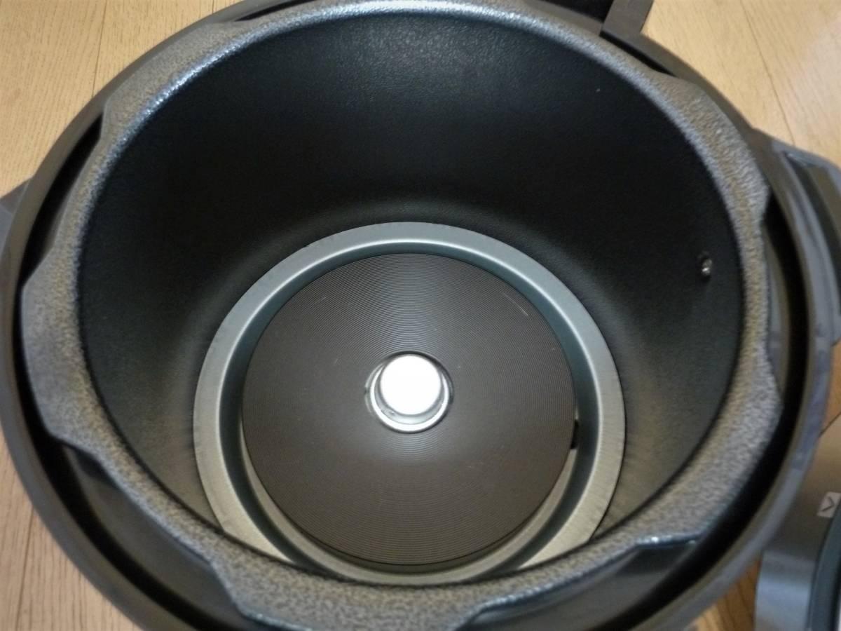 ショップジャパン 電気圧力鍋 プレッシャーキングプロ SC-30SA-JO1 箱 レシピ付き_画像6