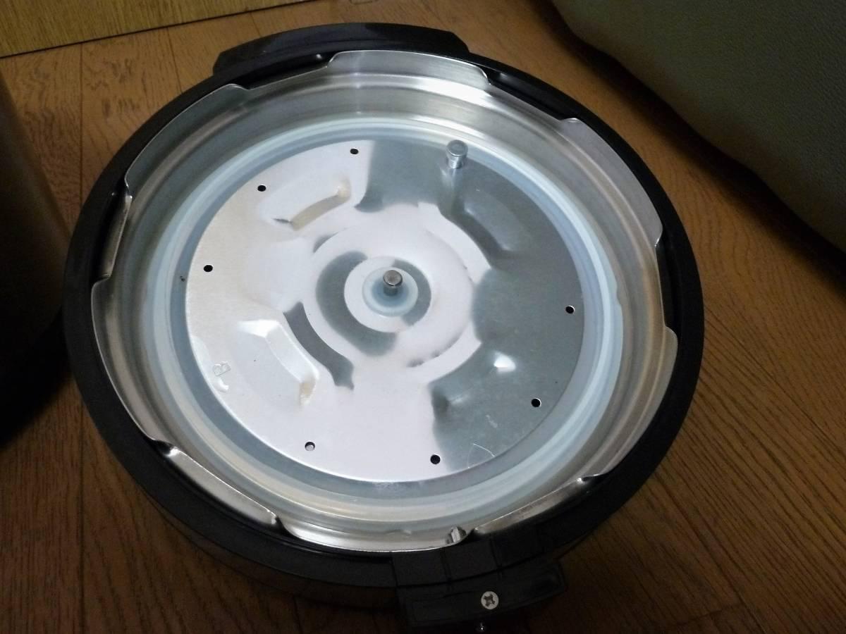 ショップジャパン 電気圧力鍋 プレッシャーキングプロ SC-30SA-JO1 箱 レシピ付き_画像7