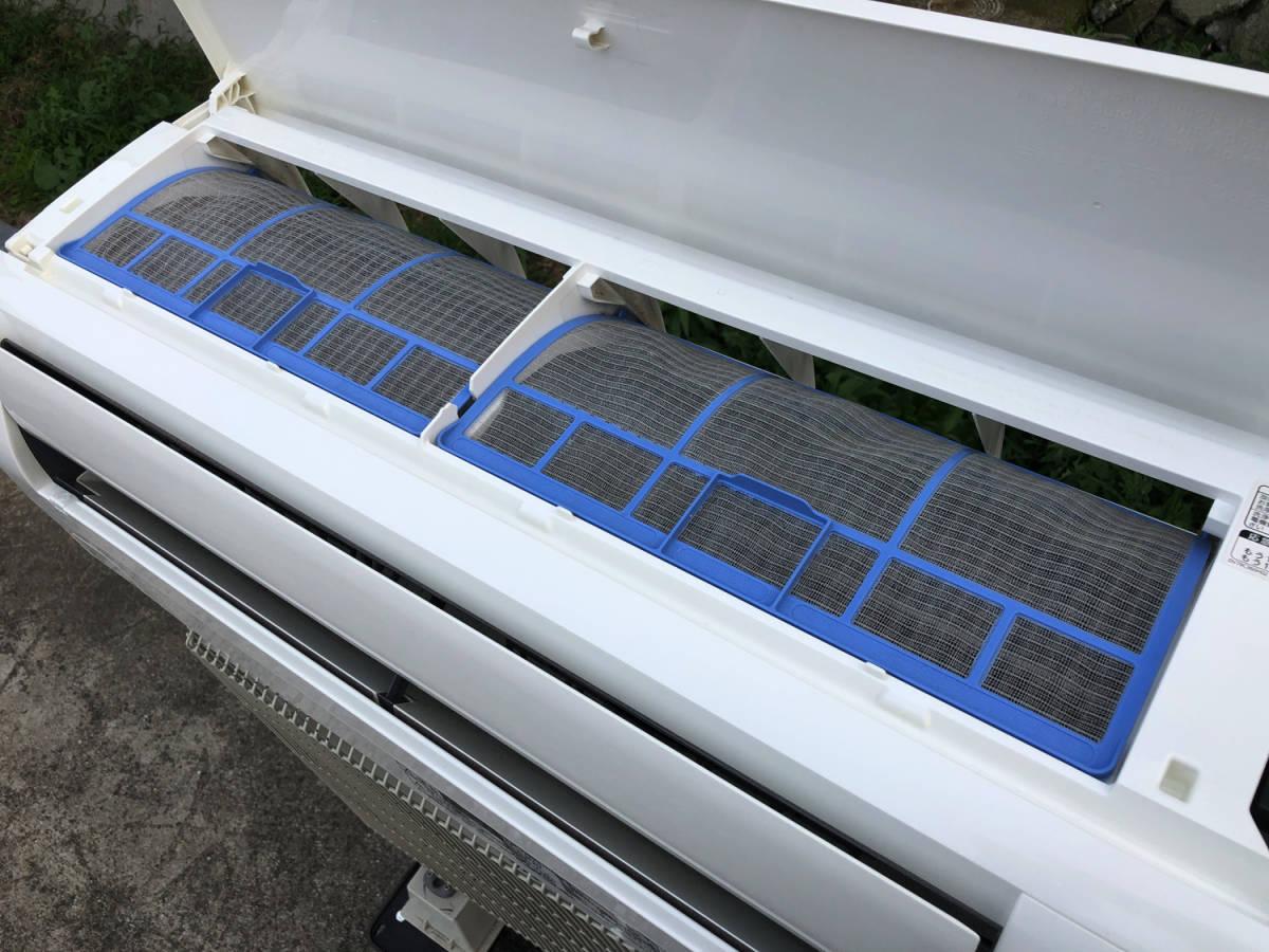 三菱/MITSUBISHI 霧ヶ峰 冷暖房除湿ルームエアコン MSZ-GM404S ~17畳 4.0kw 200V 2014年製_画像10
