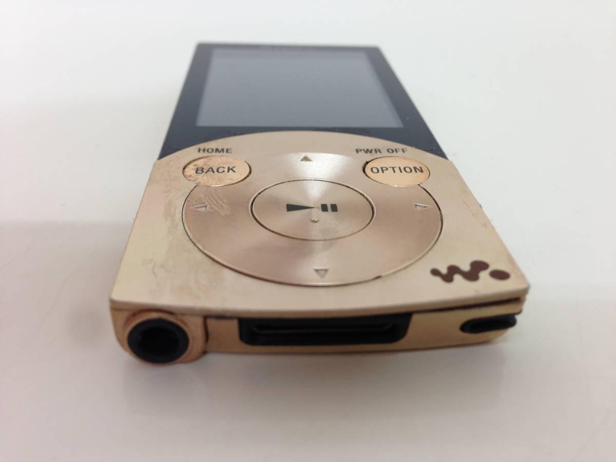 【A】ソニー SONY ウォークマン Sシリーズ ノイズキャンセル搭載 16GB ゴールド NW-S745/N 0523-B002P67UIC-1-1296-4880-UKN  60n_画像3