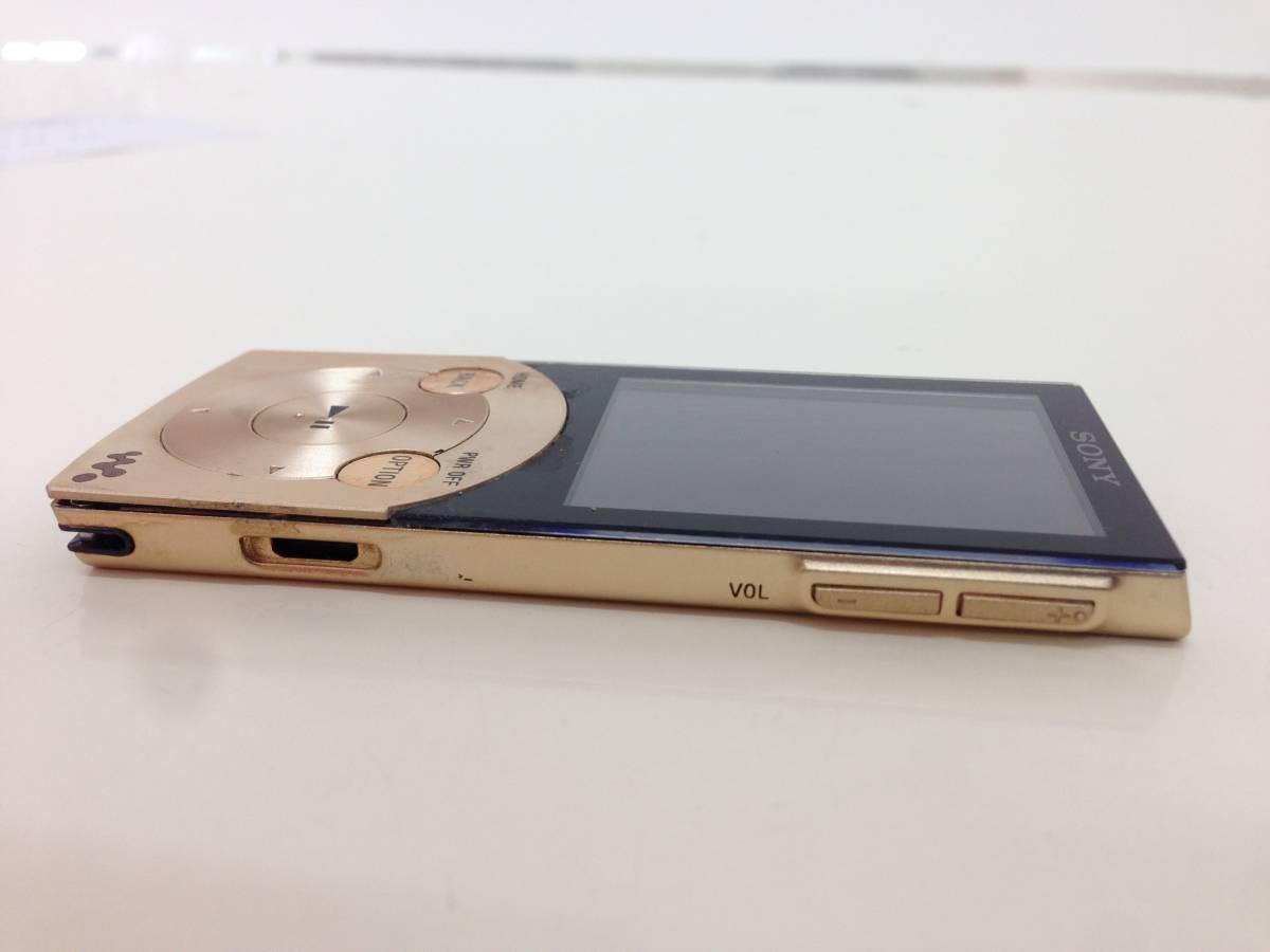 【A】ソニー SONY ウォークマン Sシリーズ ノイズキャンセル搭載 16GB ゴールド NW-S745/N 0523-B002P67UIC-1-1296-4880-UKN  60n_画像4