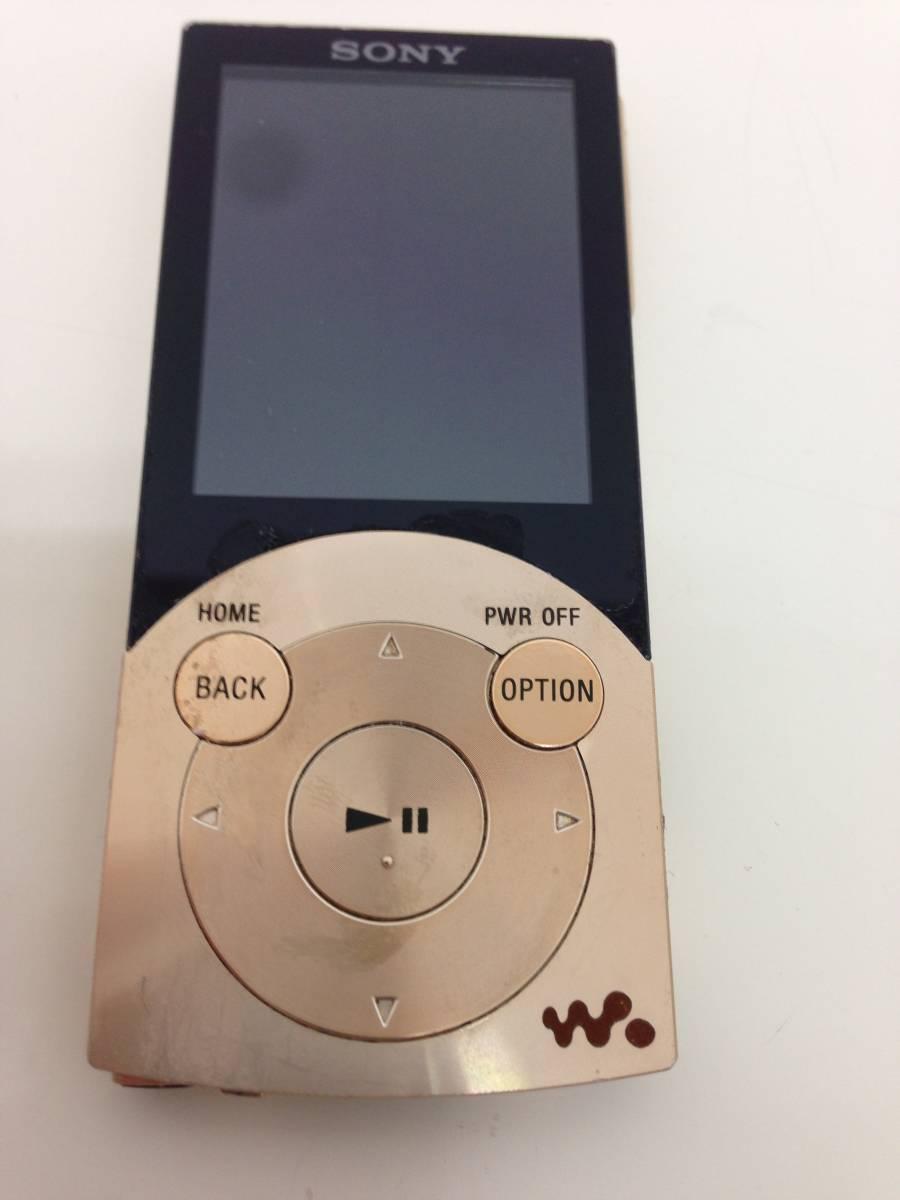 【A】ソニー SONY ウォークマン Sシリーズ ノイズキャンセル搭載 16GB ゴールド NW-S745/N 0523-B002P67UIC-1-1296-4880-UKN  60n