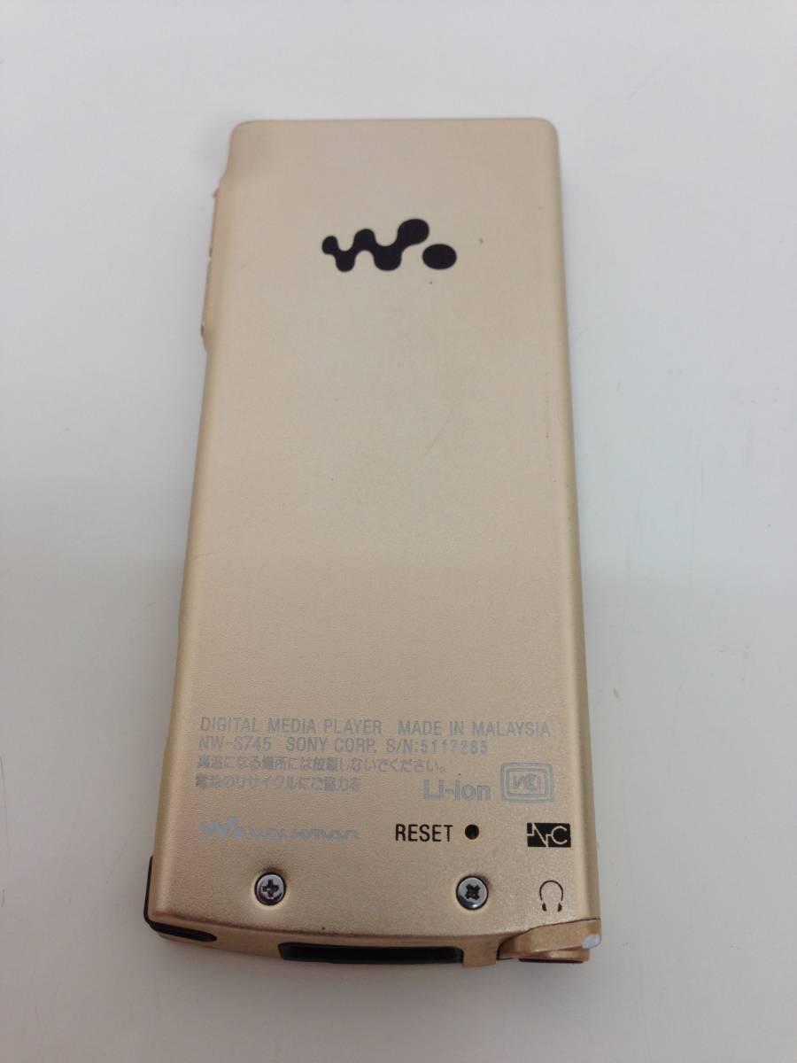 【A】ソニー SONY ウォークマン Sシリーズ ノイズキャンセル搭載 16GB ゴールド NW-S745/N 0523-B002P67UIC-1-1296-4880-UKN  60n_画像2