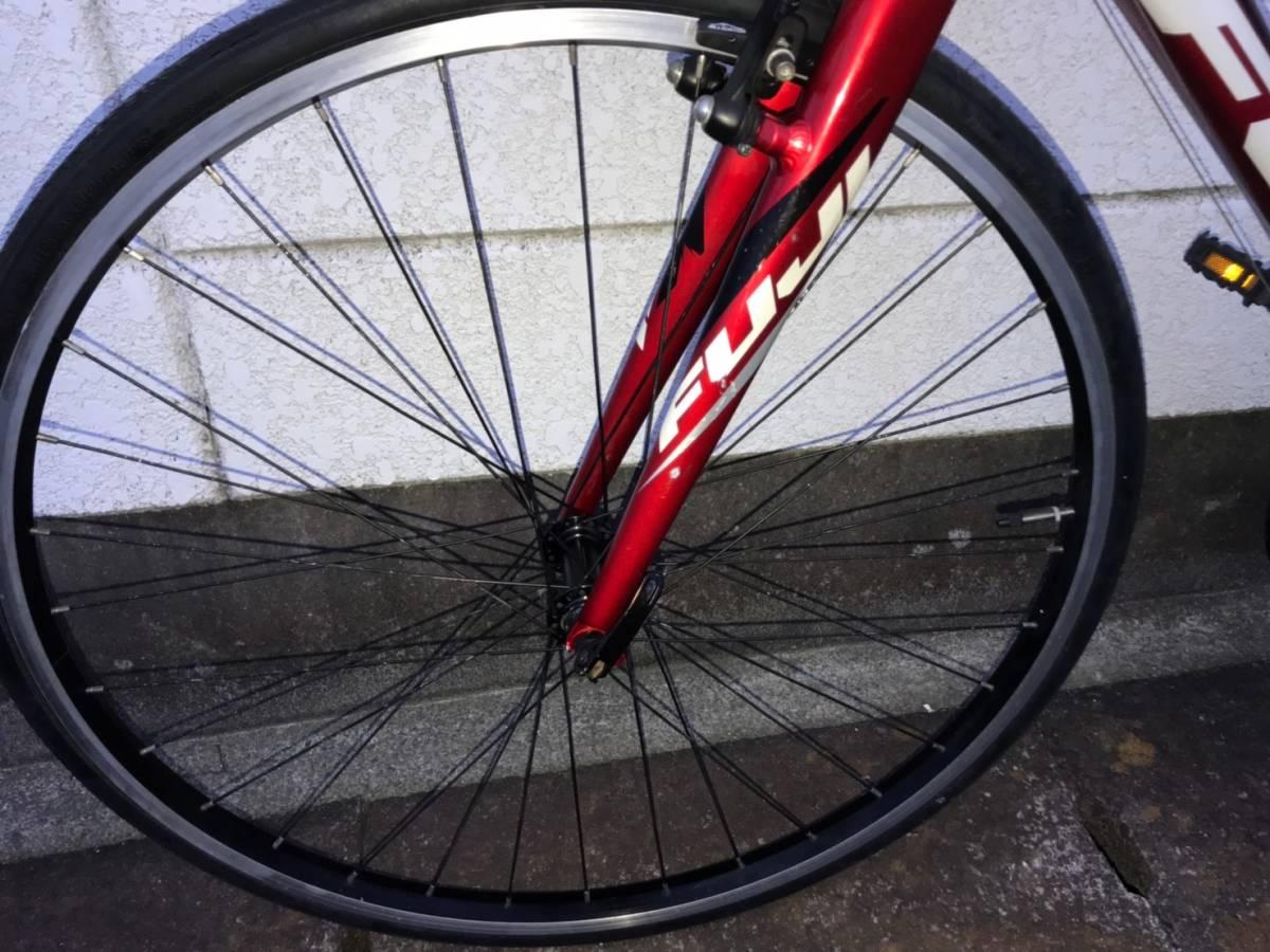 ■S5■ FUJI SPARROW フジ スパロウ クロスバイク アルミ_画像6