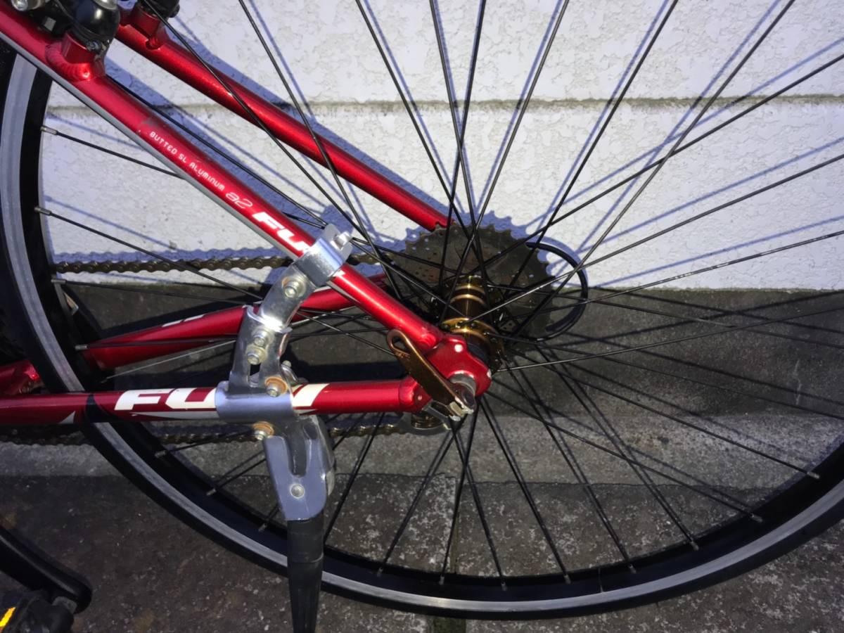 ■S5■ FUJI SPARROW フジ スパロウ クロスバイク アルミ_画像8