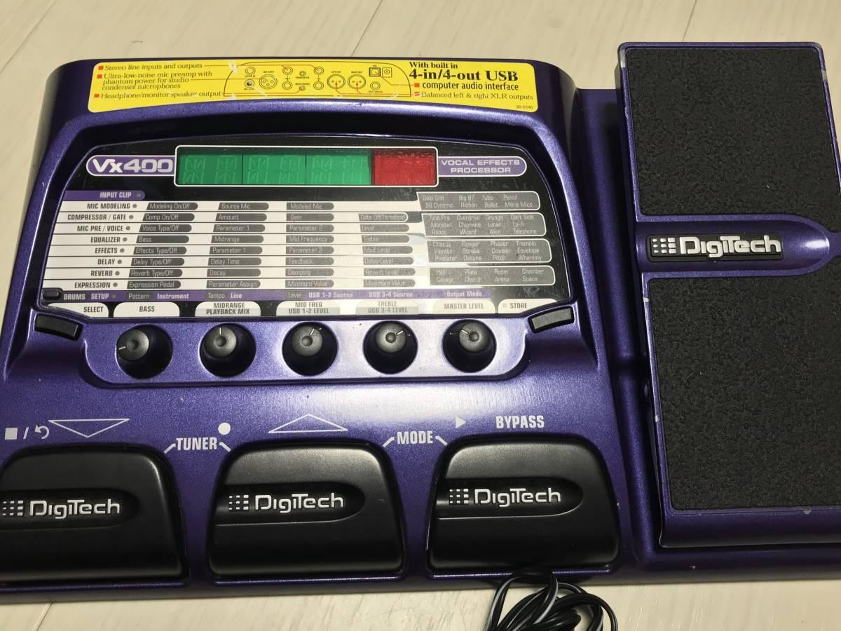 VX400 ボーカルエフェクター