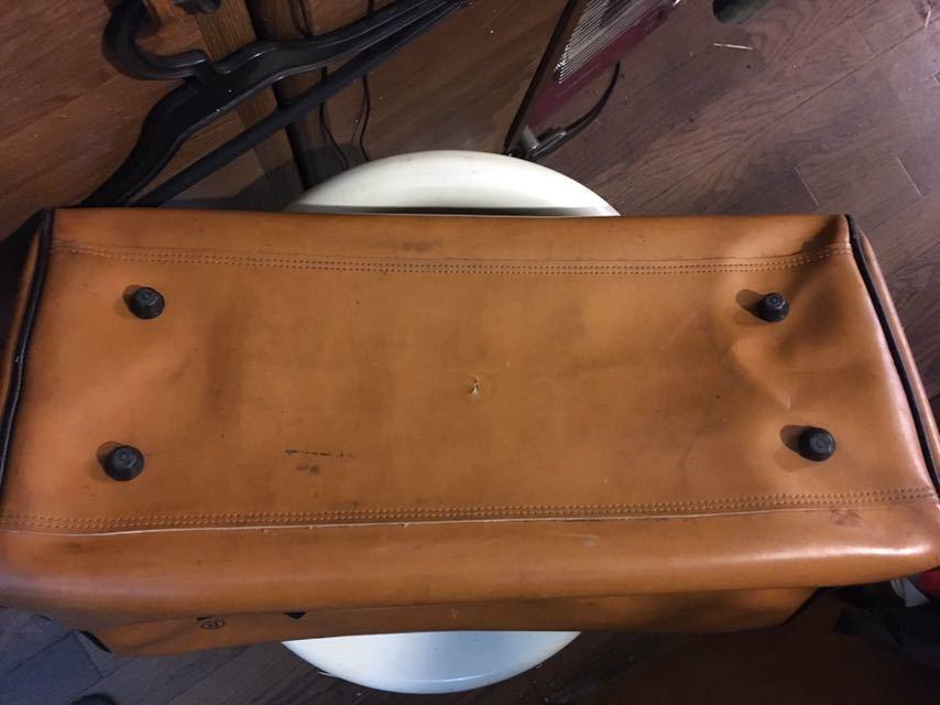 ビンテージ! アディダス ボストンバッグ 80年代 アディダスオリジナルス 旅行鞄 ジムバッグ アンティーク バッグ_画像4