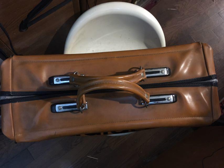 ビンテージ! アディダス ボストンバッグ 80年代 アディダスオリジナルス 旅行鞄 ジムバッグ アンティーク バッグ_画像5