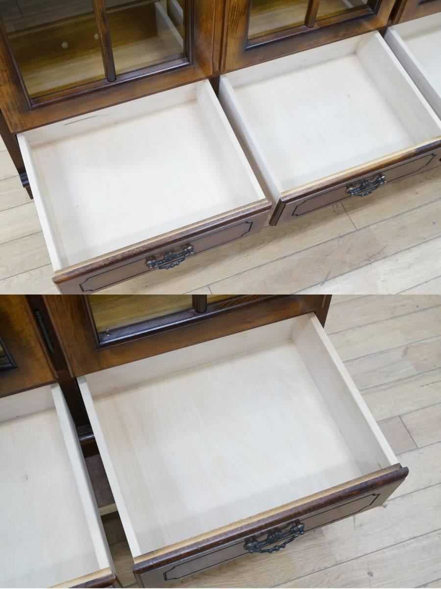 【karimoku/カリモク】コロニアル サイドボード 飾り棚 リビング 家具 _画像5