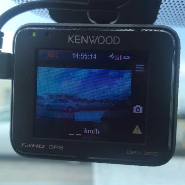 ★送料無料★KENWOOD ケンウッド ドライブレコーダー ドラレコ DRV-320 フルHD GPS 2018年式★_画像6