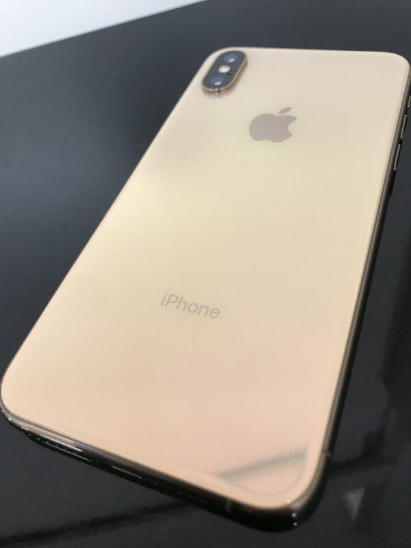 Apple アップル iPhone アイホン XS テン 10 アイフォン 64GB A2098 ゴールド 判定○ シムフリー 美品 最大容量99%_画像2