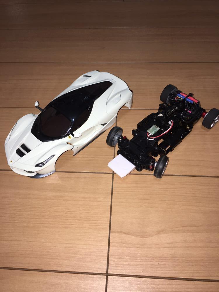 京商 ミニッツレーサー MR03VE ラ・フェラーリ レッドプロポ セット 2.4G 中古 _画像2