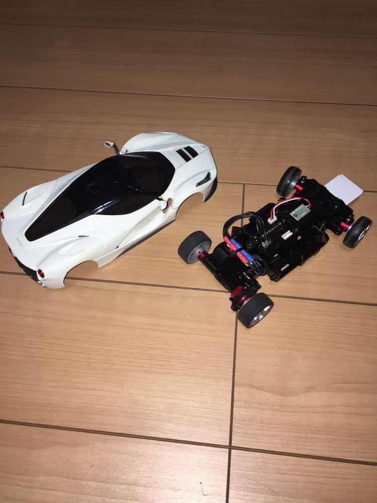 京商 ミニッツレーサー MR03VE ラ・フェラーリ レッドプロポ セット 2.4G 中古 _画像3